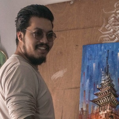 Namaste, I am Ashim Shakya, a siddartist from the himalayan country of Nepal.