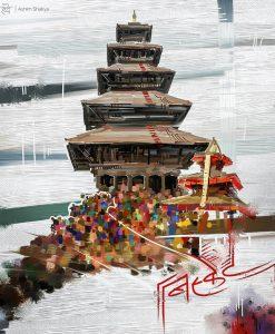 Bisket Jatra Stupa X DharmaDoo