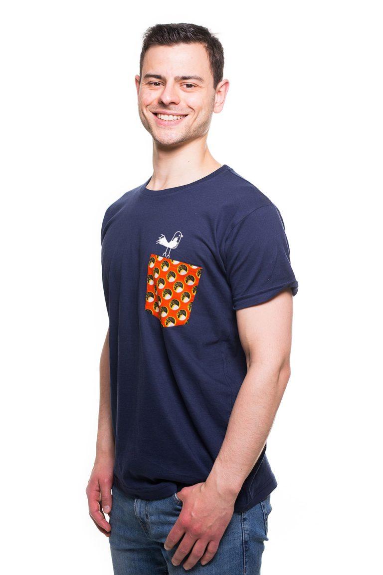 Fair_Trade_Shirt_Kipepeo_Clothing_Taschentierchen_Vogel_navy_Tanzania (2)
