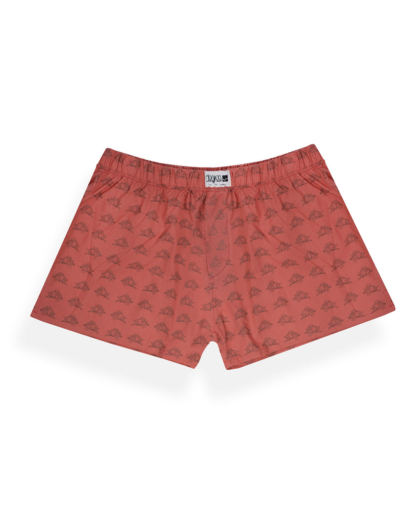 Boxershorter | King Eichel | rot - Degree Clothing